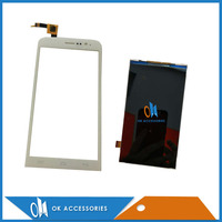 Black White Color 100 Guarantee For Explay Blaze LCD Display Screen With Touch Screen Digitizer 1PC