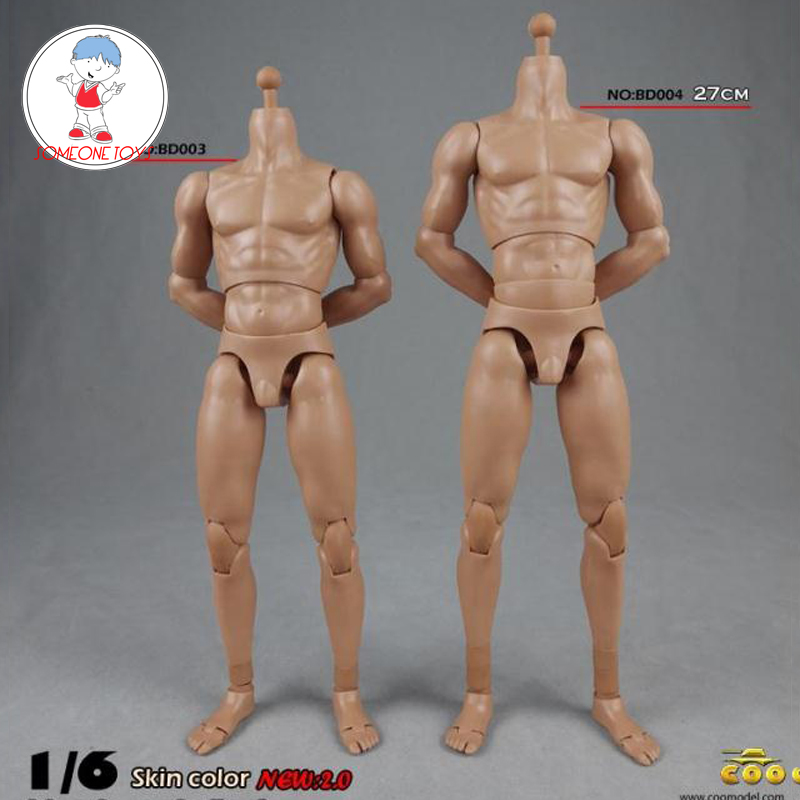 COOMODEL 1/6 NEW 2.0 Muscle Male Standard High Body Movable Joints BD003 BD004 Upgrated 12 Inches Sport Action Figure Doll Toys