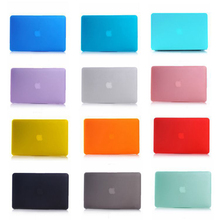 Multi-colors Plastic Matte Case Cover for Macbook Air Retina Pro 11 12 13 15Inch Laptop Case for Apple Macbook A1706 A1707 A1708