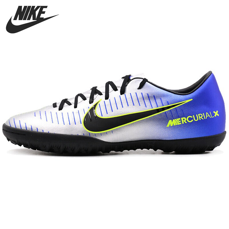 Original New Arrival 2018 NIKE MercurialX Victory VI (TF) Artificial-Turf Men's Football Shoes Soccer Shoes Sneakers tiebao e1018c professional kids indoor football boots turf racing soccer boots training football shoes