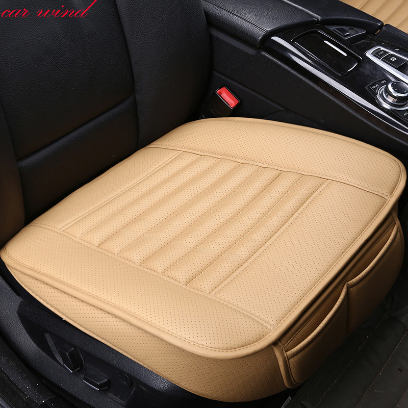 Car Wind Universal leather auto car seat covers for rx 460 nissan almera classic hyundai solaris ford focus 2 car accessories image