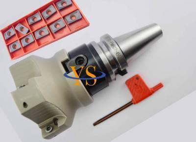 New BT30 M12 FMB27 45L+BAP400R 80-27-6T  face Mill  + 10pcs APMT1604 carbide insert CNC mill new bt30 m12 square face mill 400r 80 27 10pcs apmt1604 carbide insert