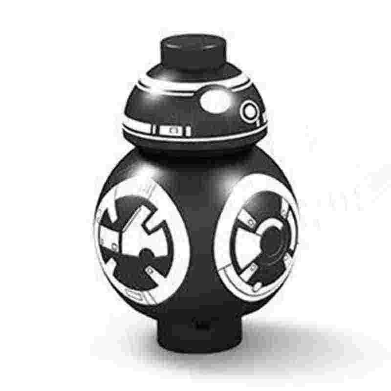 Mailackers בלוקים צעצועים ותחביבים מלחמת כוכבים דמויות R2D2 רובוט הסית R2-D2 BB8 טרופר חייל Starwars נשק בניין ערכות