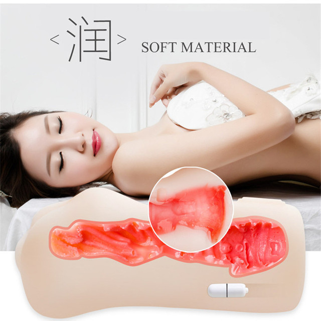 Sex Toys for Men 4D Realistic Deep Throat Male Masturbator Silicone Artificial Vagina Mouth Anal Erotic Oral Sex Action Figures 5