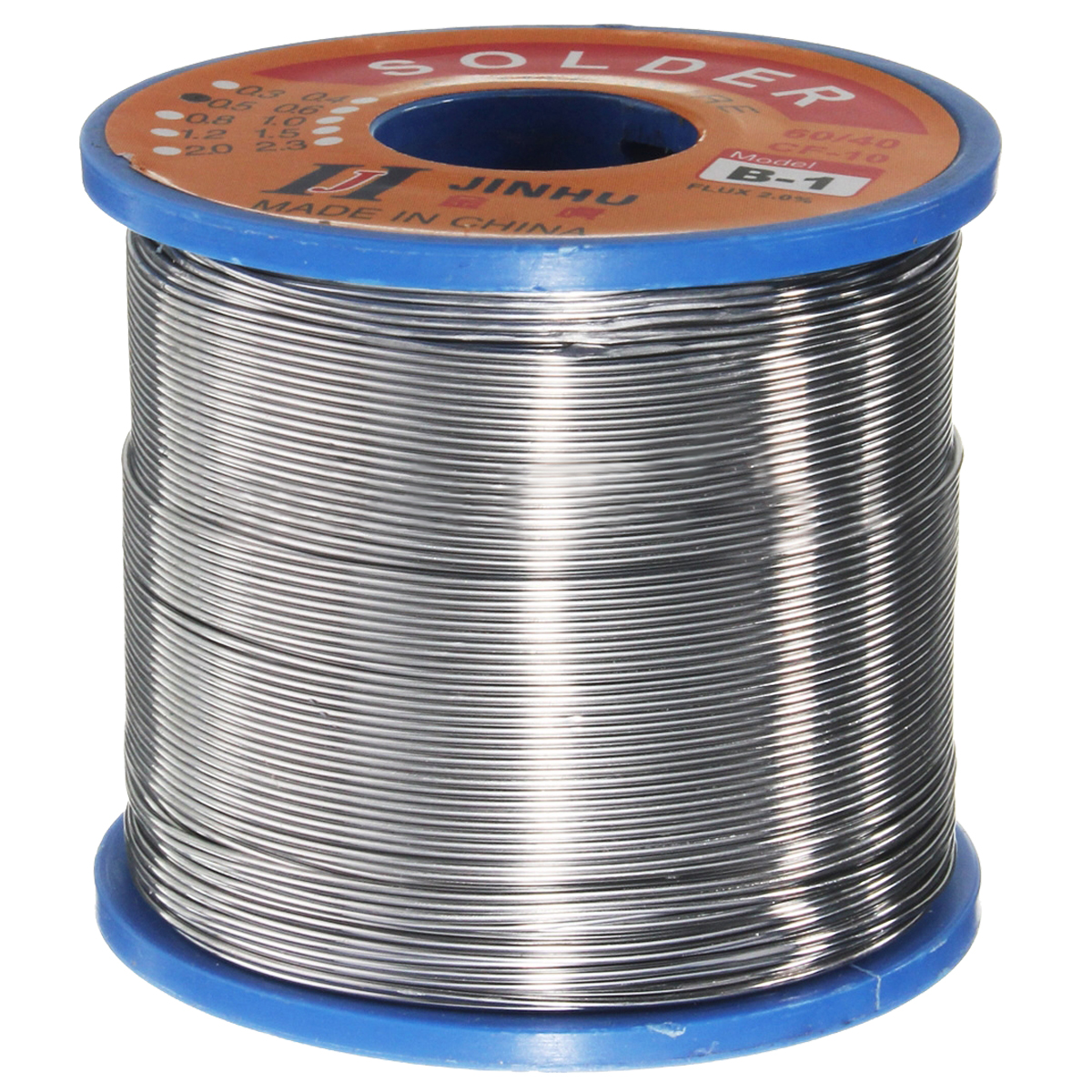 400g 60/40 Tin Lead Solder Flux Wire Rosin Core Soldering Roll 0.6-1.2mm