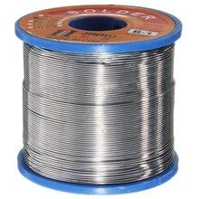 Rollo de soldadura de núcleo de colofonia, 400g, 60/40, plomo de estaño, alambre de soldadura, 0,6 1,2mm