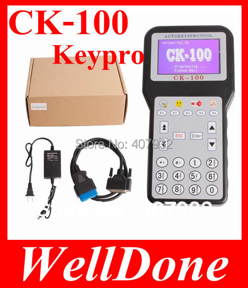 2014 Auto Key Programmer Unlocked Version v99.99 CK100 SBB Key Programmer  Multi-language 1 Year Warranty DHL Fast Shipping