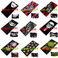 Wholesale 10 Pcs/lot 3D Printed Magic Scarf Unisex High Quality Polyester Scarves Motorcycle Bike Hiking Skull Bandanas Headwear