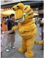 Горячая распродажа! Кот гарфилд костюм талисмана, Мультфильм костюм талисмана размер взрослую кошку одежда бесплатная доставка