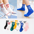 2016 Autumn/Winter 1-10y Baby Boy Girl short Socks New design Toddle Cotton Socks Children With Stripe c881