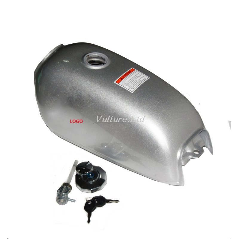 Chrome Universal 6L Gal Capacity Fuel Tank Dominator Gas For Retro Cafe Racer Tank Jialing70 цена