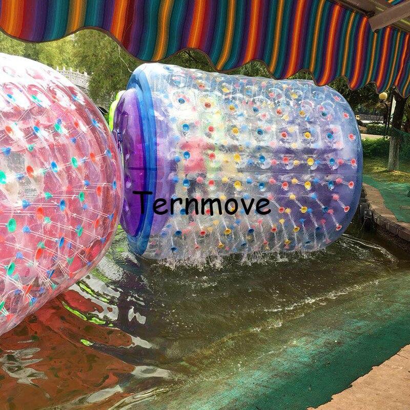 Équipement de Paly d'eau de roue de rouleau, rouleau d'eau de Tube de boule de marche de l'eau roulant la roue de ballon pour des enfants d'adultes