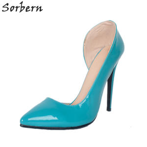 98a60a307ff Sorbern Shoes Red For Women Heels 2018 Ladies Pumps