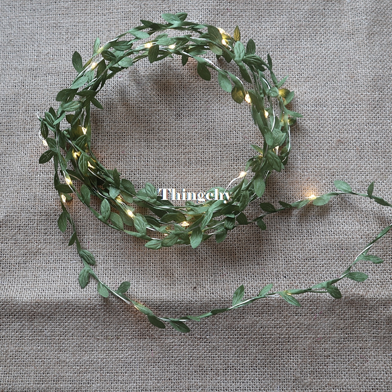 tiny-leaves-garland-fairy-light-led-copper-wire-Battery-string-lights-Indoor-home-for-Wedding-Table