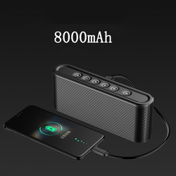 Active Systems Flex Bluetooth Speaker Manual X6 10w Usb Mp3 Player Mini Rechargeable Battery Dual Bass Loudspeaker for iPhone PC
