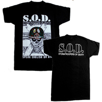 S O D STORMTROOPERS OF DEATH T Shirt Men Printed Casual Two Sides Tee USA Plus