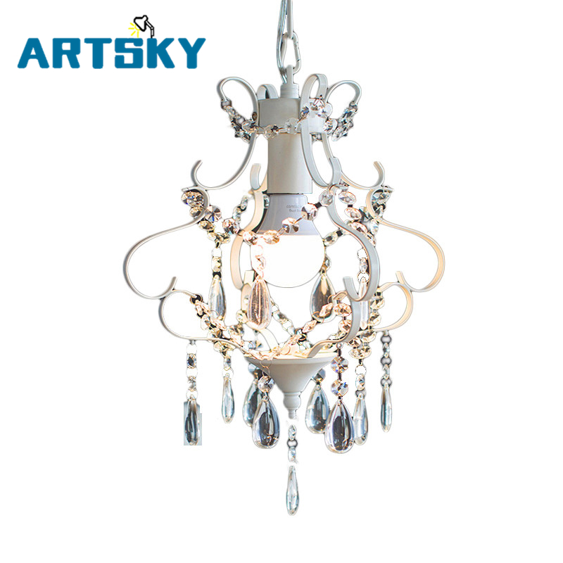 Modern Nordic Crystal Chandelier Lighting Creative Personality Simple Crystal Pendant Lamp Aisle Lights Lamps Bedroom Corridor компактная пудра maybelline new york affinitone 17 цвет 17 розово бежевый variant hex name e6c7b5
