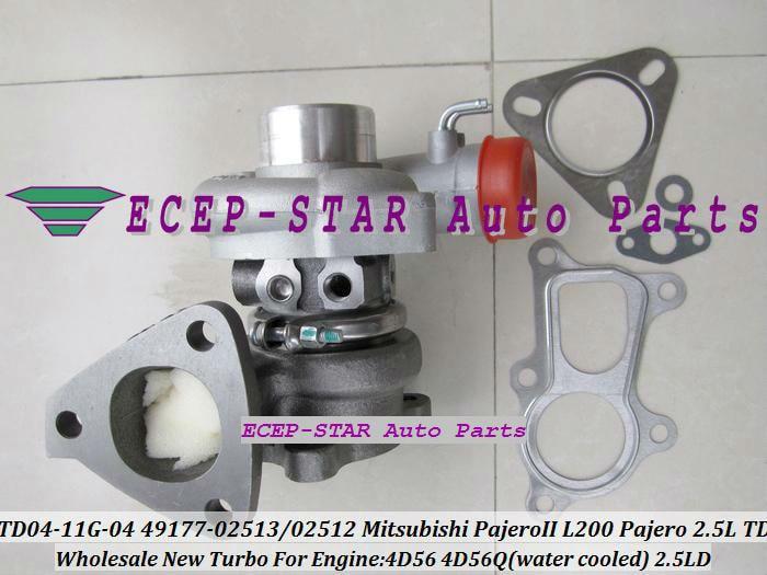TD04 TD04 11G 49177 02513 49177 02512 28200 42540 49177 07612 Turbo For Mitsubishi L200 MONTERO PAJERO Galloper 4D56 4D56Q 2.5L