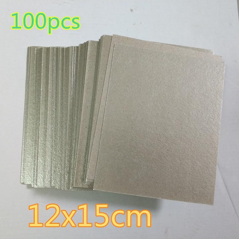 100 шт. 12*15 см запасные части для микроволновой печи s mica микроволновая печь листовая слюда плиты