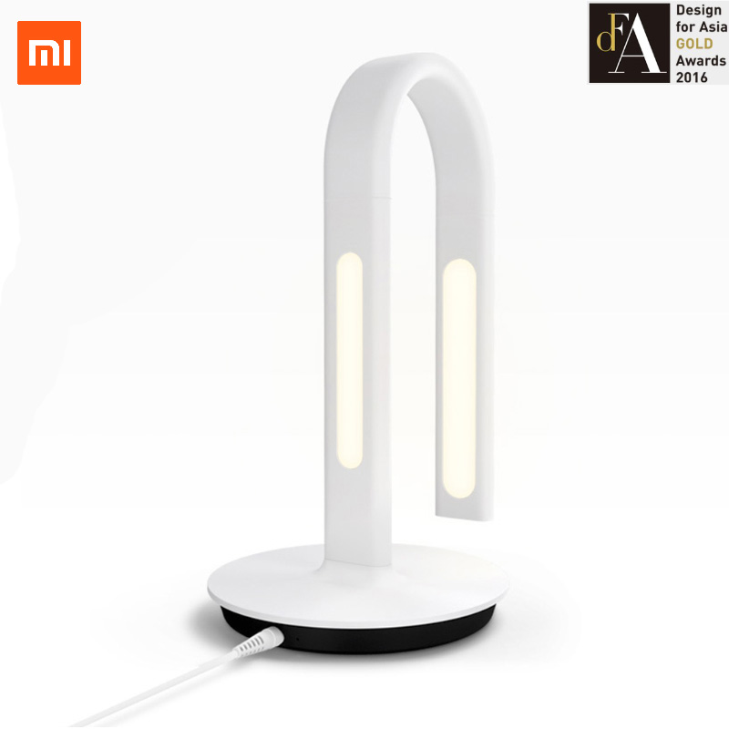 Фотография Original Xiaomi Mijia Eyecare Smart Lamp 2 Desklamp App Control Dual Light Source Table Lamps Desklight Night light
