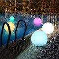 Thrisdar светильник с шариком для бассейна с пультом дистанционного управления RGB погружной светильник подводный светильник IP68 для ванной комн...