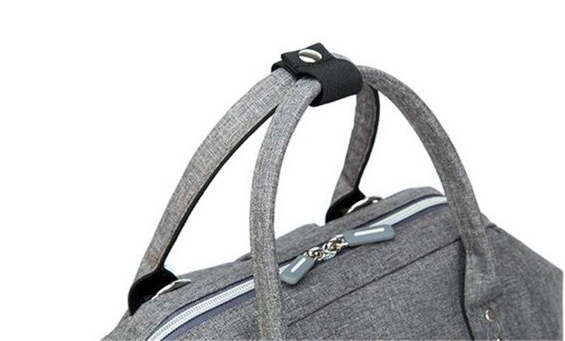 HTB1reujbdjvK1RjSspiq6AEqXXaO 23 Colors Fashion Mummy Maternity Nappy Bag Large Capacity Baby Diaper Bag Travel Backpack Designer Nursing Bag for Baby Care