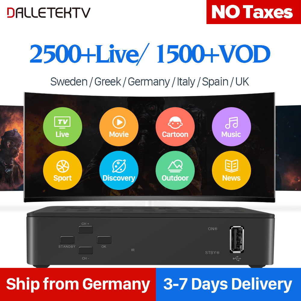 Linux Ip tv Box Europe 1 Year IUDTV Code IPTV 2500+ IPTV Swedish Italia French Arabic IPTV Box best french iptv dalletektv leadcool smart tv android iptv box europe swedish arabic 2500 channels 1 year iudtv iptv stb box