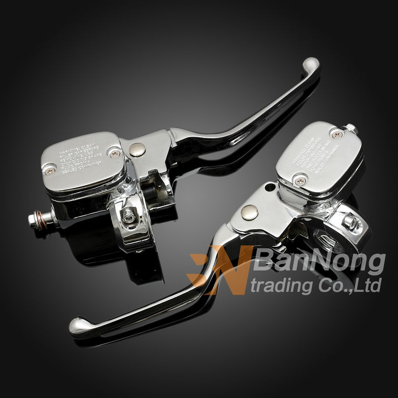 Free shipping high quality Motorcycle Hydraulic Left right set Clutch brake Master Cylinder For Harley XL883