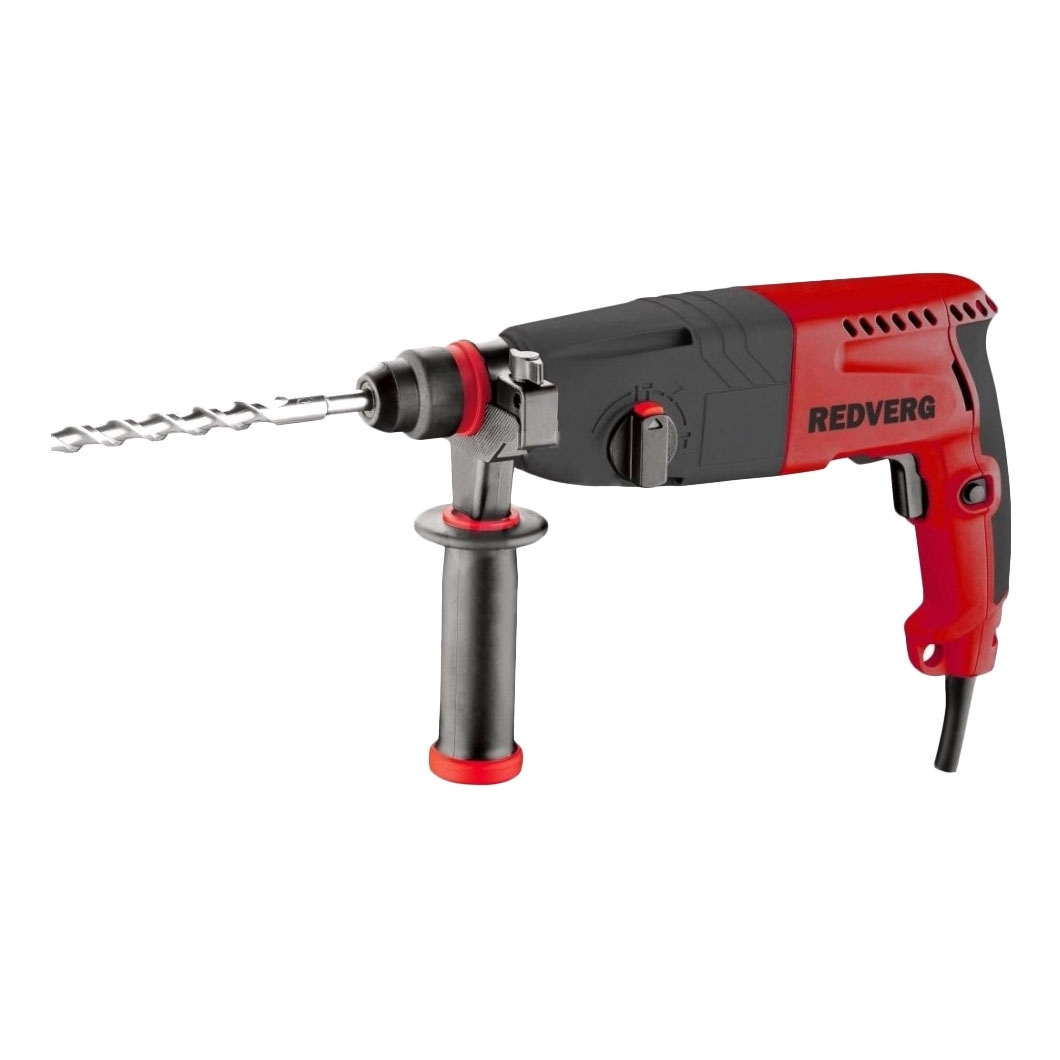 Hammer Drill electric RedVerg RD-RH920 (Power 920 W, energy impact 3 J, SDS + Chuck) hammer drill electric redverg rd rh1500 power 1500 w drilling in concrete to 36mm антивибрационная system