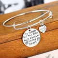 Dog Footprints Love Forever In My Heart Bracelet Friend Women Wedding Gifts Party Bride Jewelry Girls Souvenirs Lover Charm