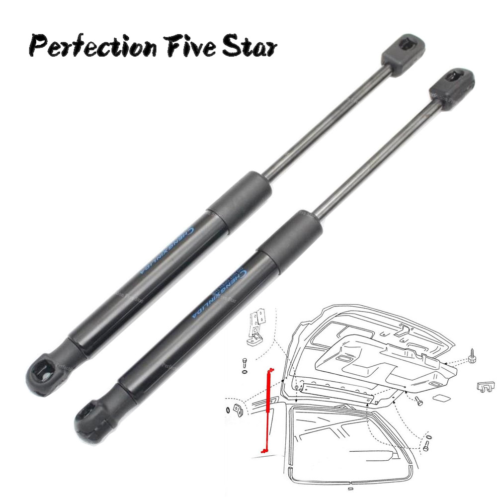 2Qty Rear Trunk Shock Spring Lift Support Prop For Audi 100 A6 A6 Quattro S4 S6