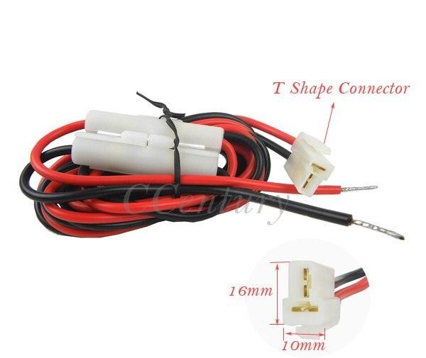 imágenes para Dc adaptador de Cable de Cable para Yaesu Kenwood Radio de coche móvil ft-7800e FT-8800R FT-8900R TM241 TM231 TM261A TM271 TM471 IC-F510