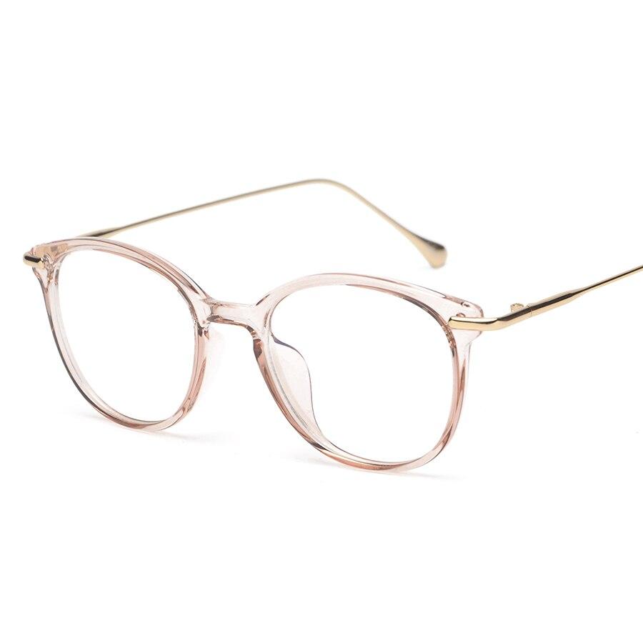 Transparente Farben Optische Rahmen Männer Gold Glasrahmen Frauen ...