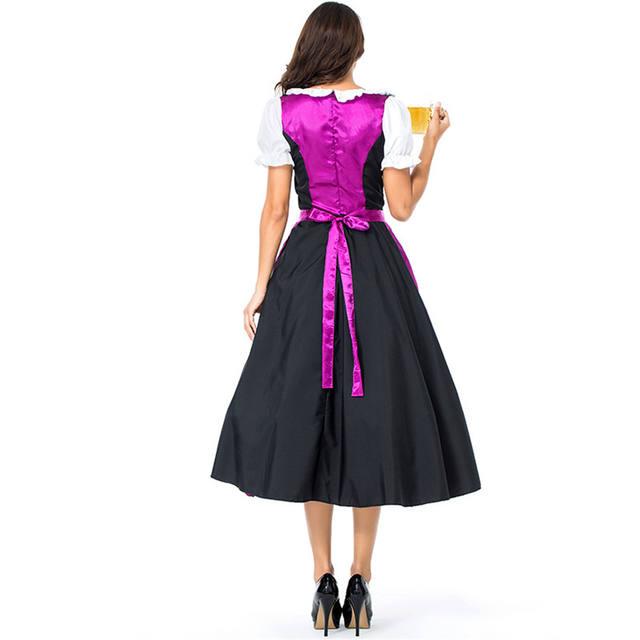 Women's Bavarian Oktoberfest Beer Dress Costume