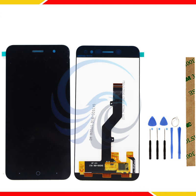 Tested LCD Display <font><b>Screen</b></font> For <font><b>ZTE</b></font> <font><b>Blade</b></font> <font><b>A520</b></font> LCD Display With Touch <font><b>Screen</b></font> Complete assembly image