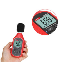 UNI-T UT353BT Sound Level Meter Digital Bluetooth Noise Meter Tester 30-130dB Decibel Monitoring Sound Level Meters цены онлайн