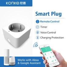 Wifi умная вилка ЕС адаптер беспроводной пульт дистанционного