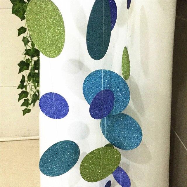 Aliexpress Com Buy Paper Garlands Wedding Party Bunting Banner