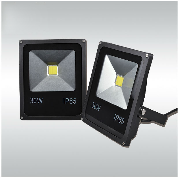 LED flood light 30W New Year waterproof IP65 Ultrathin Floodlight Spotlight Outdoor Lighting garden square light Free Shipping ultrathin led flood light 100w 150w 200w black garden spot ac85 265v waterproof ip65 floodlight spotlight outdoor lighting