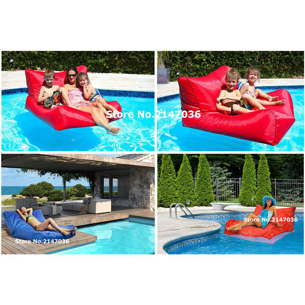 Onland Outdoor Furniture Cobalt Blue Relax On Land Float On Water Outdoor 2 Function Bean Bag Chair Outdoor Furniture Beanbag Sofa Seat In Garden Sofas From Furniture On