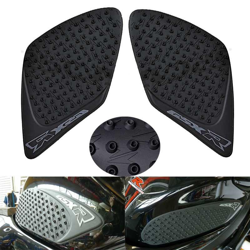For Suzuki GSXR1000 2007-2008 K7 GSXR 1000 Motorcycle Protector Anti slip Tank Pad Sticker Gas Knee Grip Traction Side 3M Decal bjmoto for yamaha yzf r25 r3 2013 2017 motorcycle tank pad protector sticker decal gas knee grip tank traction pad side black