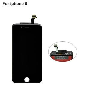 Image 2 - Pantalla LCD de grado AAA para iPhone 6, 5s, 5c, 6s plus, montaje de marco de bisel de pantalla táctil, LCD blanco y negro para iPhone 6
