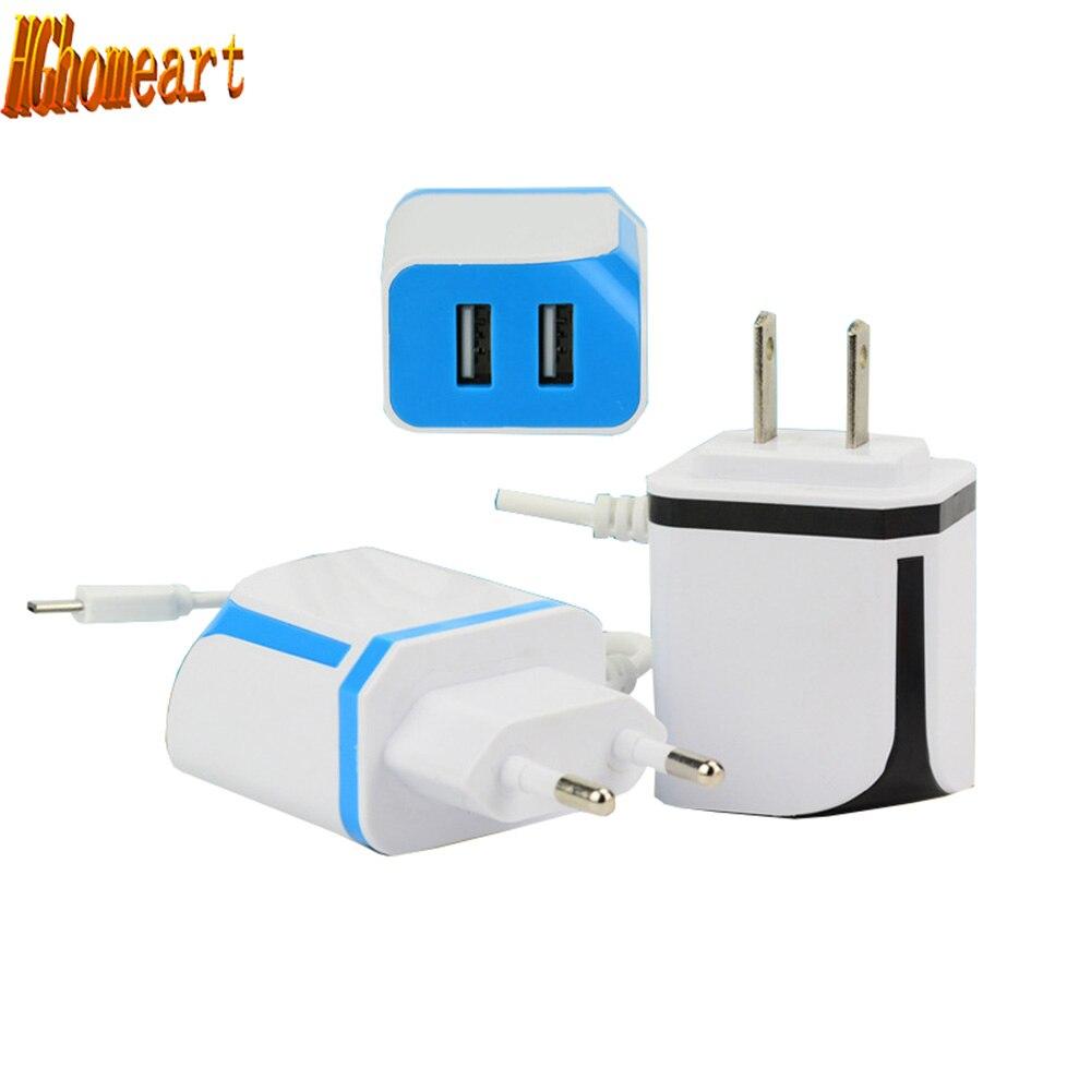 HGhomeart 2 Ports 5V 1A 2A USB Power Socket Portable USB font b Phone b font