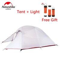 Naturehike обновленная серия Cloud Up Сверхлегкий 1-3 человек Открытый Кемпинг палатка двухслойная беседка зимние рыболовные туристические палатки