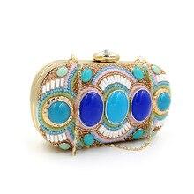 2016 neuesten Stilvollen Frauen Abendtasche Luxus Strass Handtasche Kristall Handtaschen Party Hochzeit Tasche Pochette Sc106