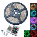 Waterproof 35W 300-5050 SMD RGB LED Light Strip w/ Remote control (DC 12V / 5m)