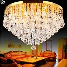 Crystal Light новый список современные фары минималистский гостиной лампа внутреннее освещение спальня Потолочные Светильники