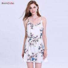 Vestidos de impressão Floral Do Vintage 2017 Novo estilo Verão Vestido Retro Vestidos robe Roupa Das Mulheres mini vestido de alcinhas