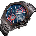 ASJ Top Brand Luxury Quartz Watch Men Sport Clock Mens Casual Digital LED Watches Military Army Male Full Steel Clocks Gift