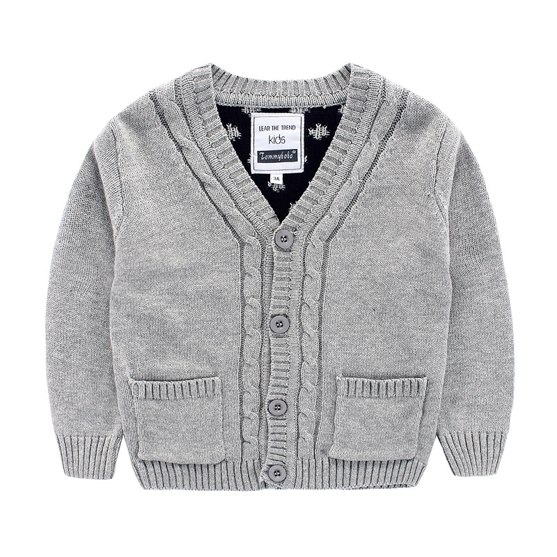 c62261be1 Baby Boys Sweater Cardigan New Autumn Kids Bobo Choses Dot Knitted ...